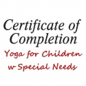 Yoga for Children w Special Needs Certificate