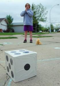 Giant Yoga Board Game