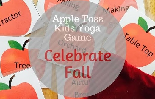 Apple Toss Kids Yoga Game