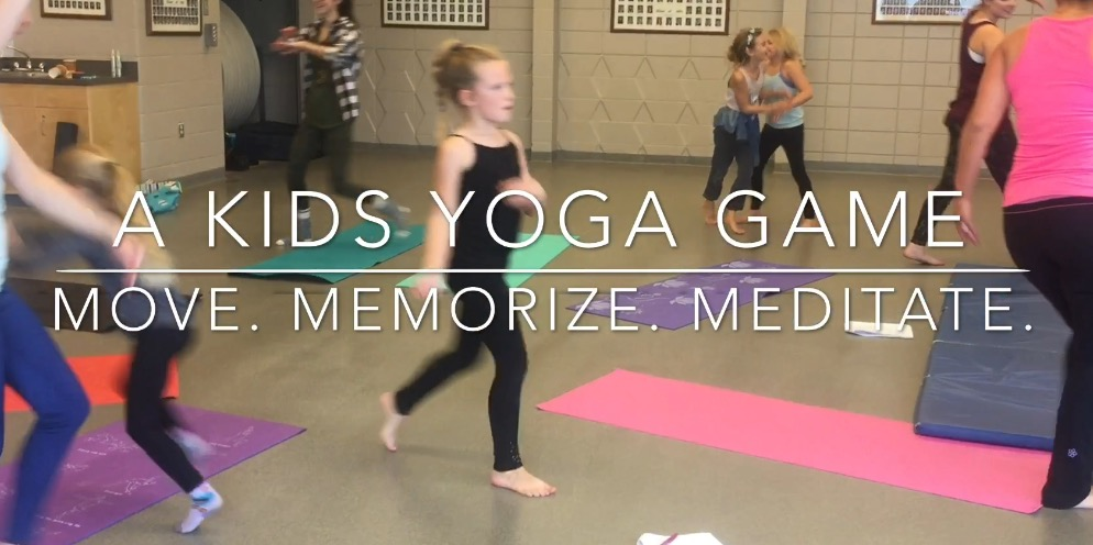 Move, Memorize, Meditate: Kids Yoga Game