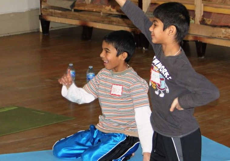 Yoga for Boys Interview with Aruna Kathy Humphrys