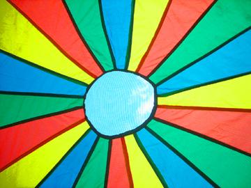 My Favourite Yoga Prop – Parachute