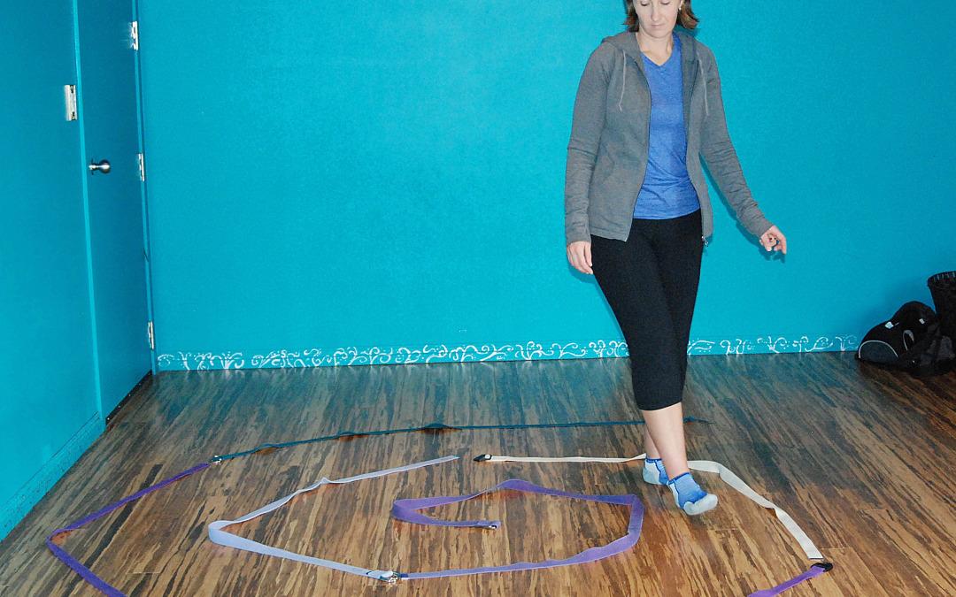Kids Yoga Activities: Rope Walking