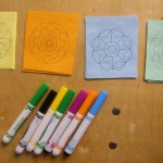 mini mandalas to color