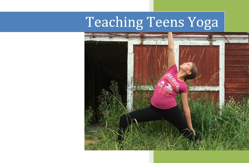 Teaching Teen Yoga Manual
