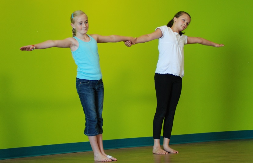 Tween and Teen Partner Yoga Class